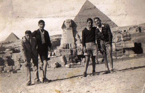 Quatre générations de juifs d'Egypte