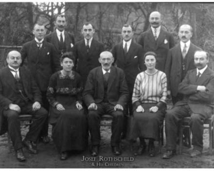 La famille Rothschild, une légende