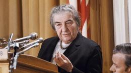 Golda Méir: la grand-mère d'Israël