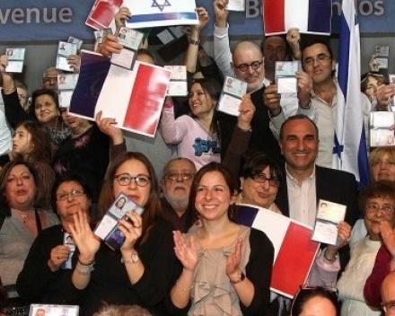 L'intégration professionnelle des olims français