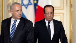 François Hollande en Israël