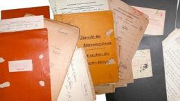 Archives d'Etat, état des archives