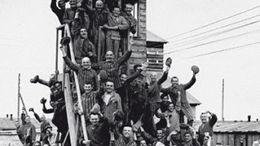 1945, la découverte des camps