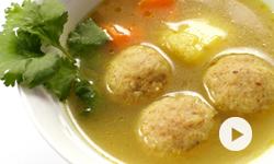 Les Kneidelech, boulettes de matsa