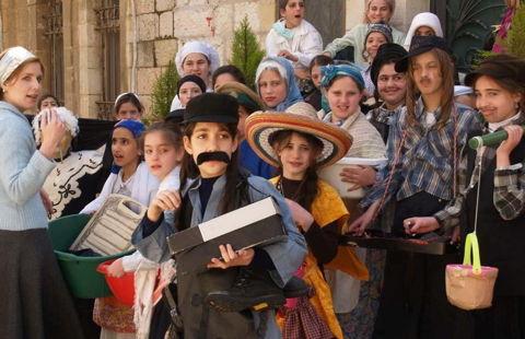 Pourim Shpil, fête des renversements