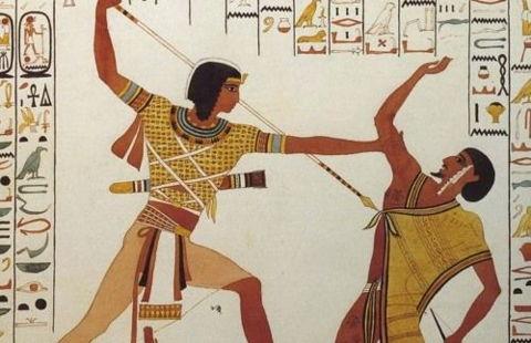 Moïse tue l'Egyptien: la violence nécessaire