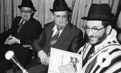 Hommage au Grand Rabbin H. Schilli