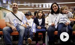 La société israélienne face aux olim