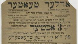 Judéo-arabe et yiddish