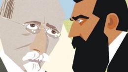 A'had Haam, l'adversaire d'Herzl