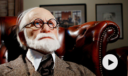 Sigmund Freud sur le divan de Jean Clair