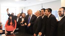 Trump, champion des juifs orthodoxes