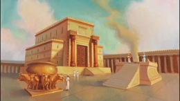 Le Temple éternel et provisoire