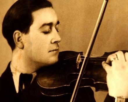Haïm à la lumière d'un violon