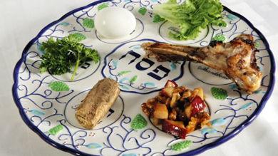 Le plateau du Seder