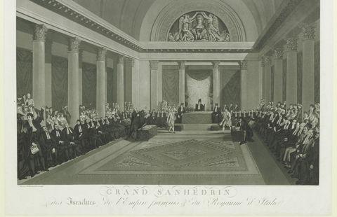 Le grand Sanhedrin de Napoléon