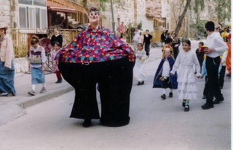 Pourim, le carnaval d'Israël