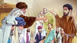 Le conflit entre pharisiens et saducéens