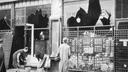 ''Nuit de cristal'' et réactions allemandes