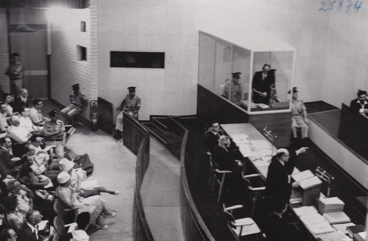 Filmer le procès Eichmann