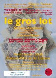Le gros lot, de Sholem Aleichem